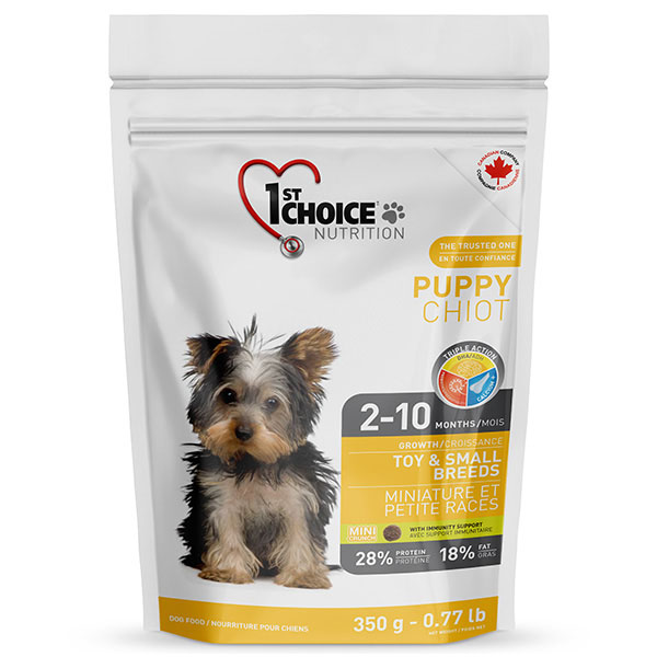 """1st Choice """"PUPPY TOY & SMALL BREEDS"""""""
