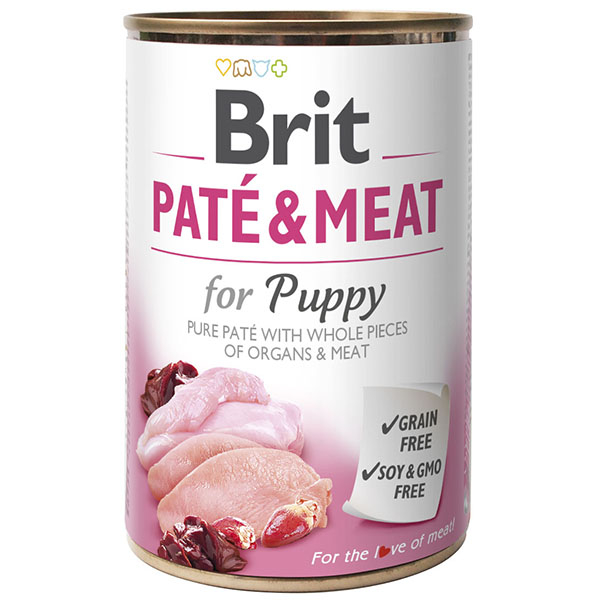 Brit PATE & MEAT «for Puppy»