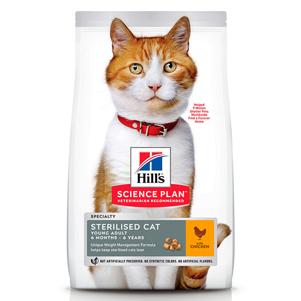 HILLS Science Plan «Sterilised Cat, Young Adult, Chicken»