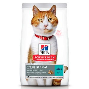 HILLS Science Plan «Sterilised Cat, Young Adult, Tuna»
