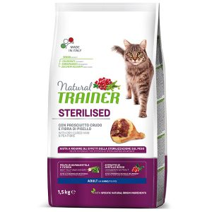 Trainer Natural «ADULT STERILISED with DRY-CURED HAM»